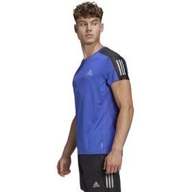 adidas OWN The Run SS Tee Men team royal blue/reflective silver